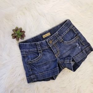 🎉3 for $15🎉 See Thru Soul Denim Shorts